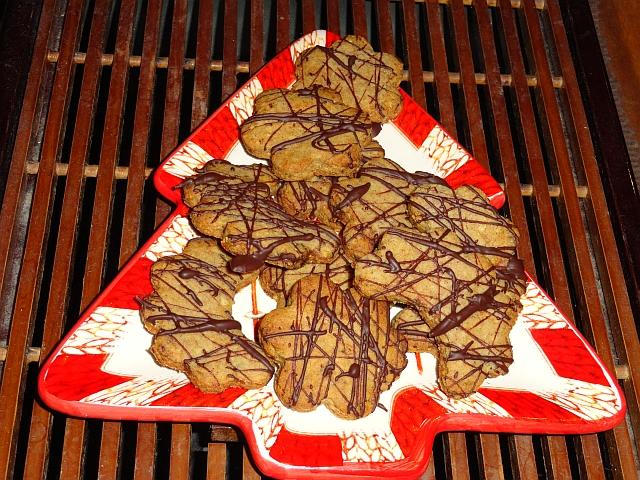 Ďatlové keksíky