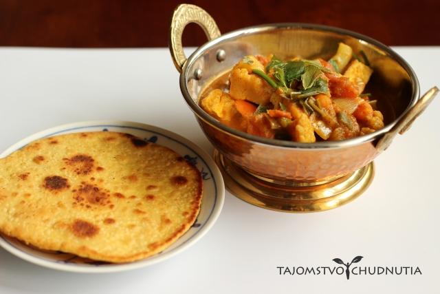 Karfiolovo-mrkvové sabdží s tofu