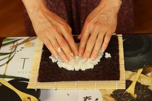 Príprava sushi