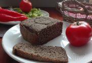Bezlepkový pohánkový chlieb do pekárničky