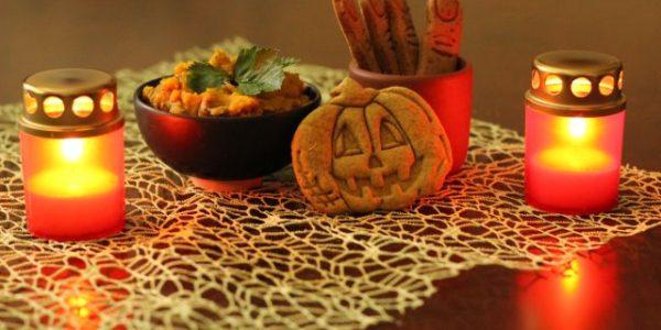 Pečiatkové sušienky Halloween