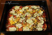 Chrumkavá celozrnná pizza bez droždia a kysnutia